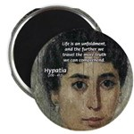 "Wisdom of Greece: Hypatia 2.25"" Magnet (100 pack)"
