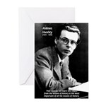 History Aldous Huxley Greeting Cards (Pk of 10