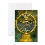 Shiva the Cosmic Dancer Greeting Cards (Package of