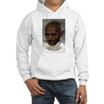Peace Activist Gandhi Hooded Sweatshirt