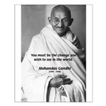 Loyalty to Cause: Gandhi Small Poster
