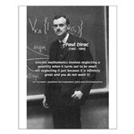 Paul Dirac Quantum Theory Small Poster