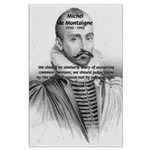 Individual Freedom Montaigne Large Poster
