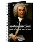 Composer J.S. Bach Journal