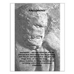Anaximenes Air Philosophy Small Poster