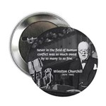 "World War II Churchill 2.25"" Button (100 pack)"