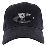 World War 2 Churchill Black Cap