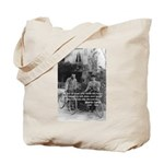 Marie & Pierre Curie Good Evil Tote Bag