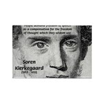 Irony Freedom of Speech Rectangle Magnet (10 pack)