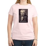 Kant Moral Law: Women's Pink T-Shirt