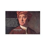 David Hume Philosophy Rectangle Magnet (100 pack)