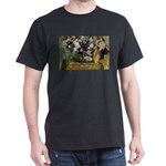 Degas Difficulty of Painting Black T-Shirt