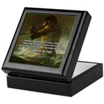 Goya Colossus Fantasy Quote Keepsake Box