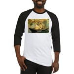 French Painter Manet Quote Baseball Jersey