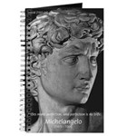 David with Michelangelo Quote Journal