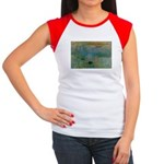 Claude Monet Torture Art Women's Cap Sleeve T-Shir