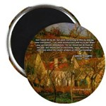 "Artist Pissarro: How to Paint 2.25"" Magnet (10 pac"