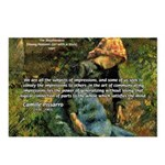 Pissarro Art of Impressions Postcards (Package of