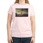 Rembrandt: on God & Painting Women's Pink T-Shirt