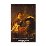 Art & Atmosphere Rembrandt Mini Poster Print