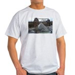 Renoir The Louvre & Nature Ash Grey T-Shirt