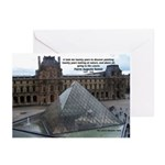 Renoir The Louvre & Nature Greeting Cards (Package
