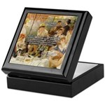 Renoir Quote and Landscape Keepsake Box