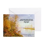 Alfred Sisley Nature Quote Greeting Cards (Package