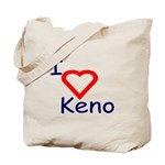 Keno Lover's Tote Bag